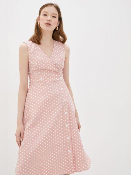 Однобортное розовое платье Compania Fantastica