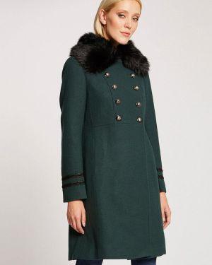 Пальто демисезонное зеленое Morgan