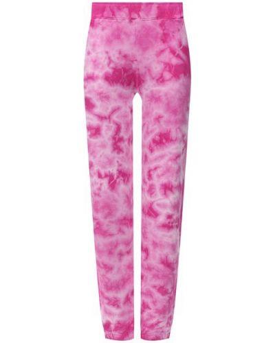 Хлопковые розовые брюки Monrow
