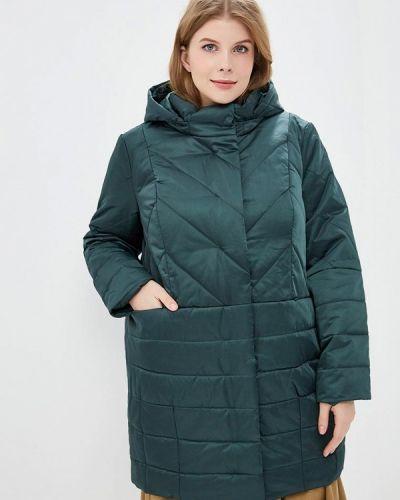 Утепленная куртка - зеленая Jp