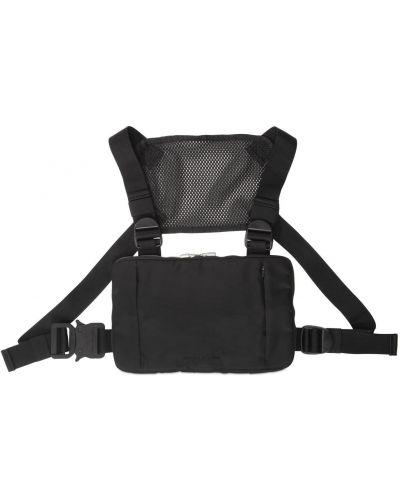Czarna torba na ramię skórzana z klamrą 1017 Alyx 9sm