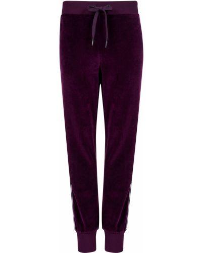 Спортивные брюки из полиэстера - фиолетовые Iceberg