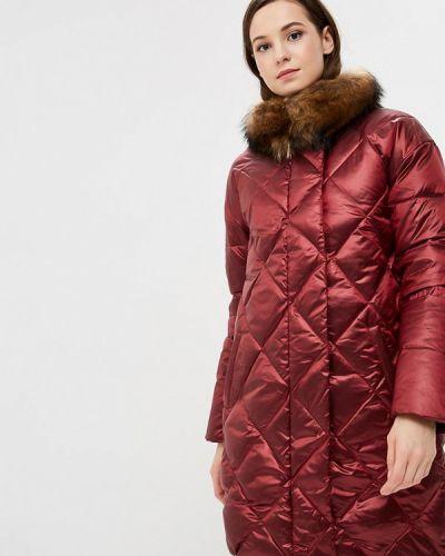 Зимняя куртка осенняя бордовый Acasta