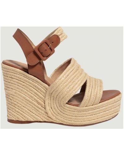 Brązowe sandały Castaner