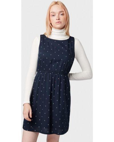 Джинсовое платье прямое весеннее Tom Tailor Denim