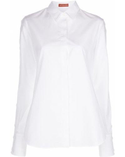 Biała koszulka bawełniana Altuzarra