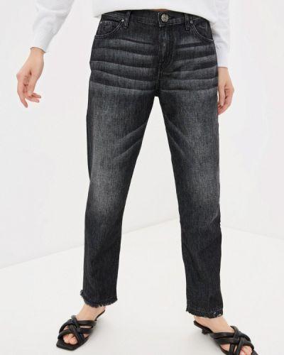 Серые джинсы-скинни узкого кроя Jacob Cohen