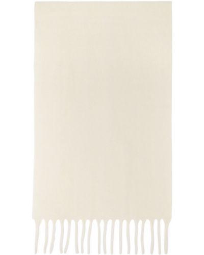 Biały szalik wełniany Etudes