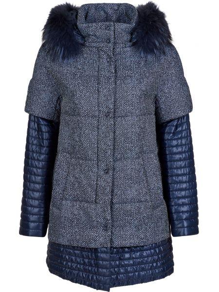 Куртка из полиэстера - синяя Gallotti