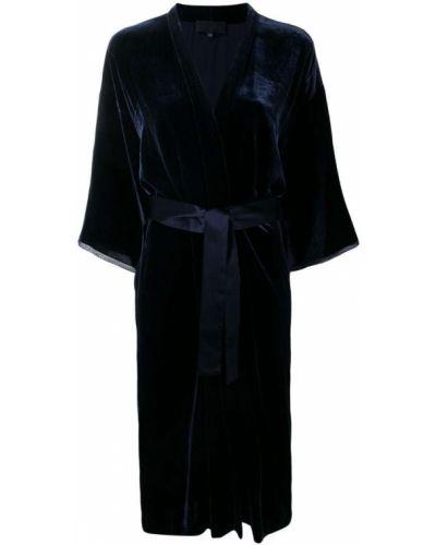 Платье с запахом кимоно Nili Lotan