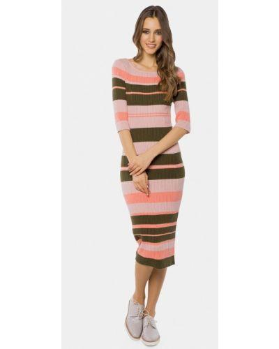 Платье весеннее розовое Mr520