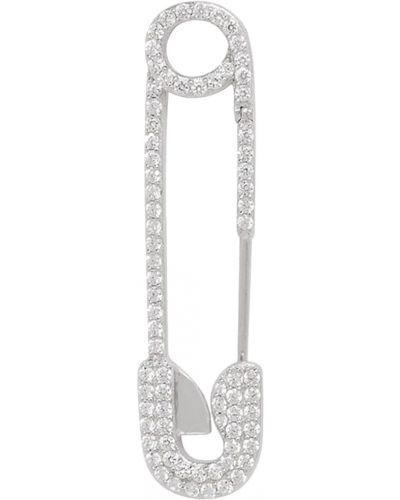 Серебряные серьги с фианитом серебряный Apm Monaco