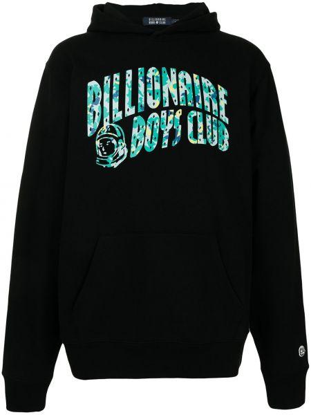 Худи длинное - черное Billionaire Boys Club