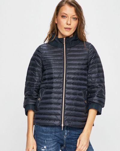Стеганая куртка с карманами утепленная Geox