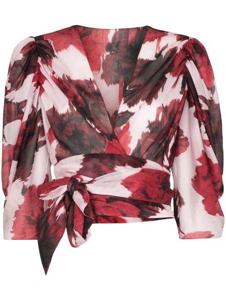 Блузка на запах - красная Alexandre Vauthier