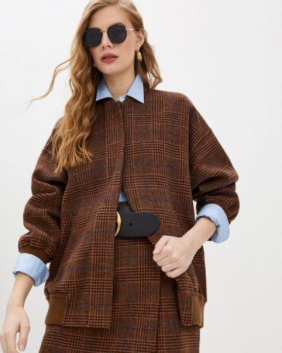 Облегченная коричневая куртка Paul & Joe