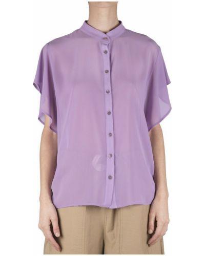Fioletowa koszula Soallure