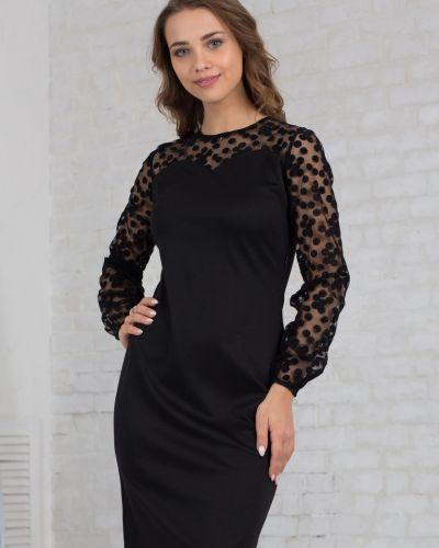 Платье в горошек азалия