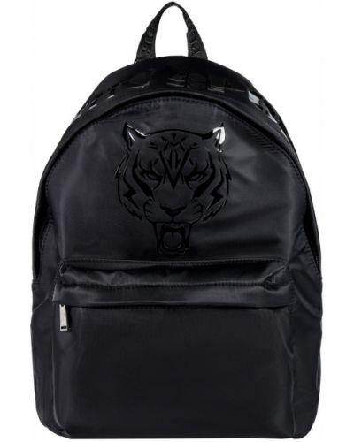 Кожаный рюкзак - черный Plein Sport