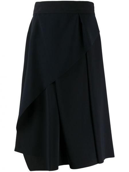 Плиссированная юбка с завышенной талией асимметричная Chalayan
