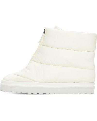 Ботильоны - белые Gia Couture