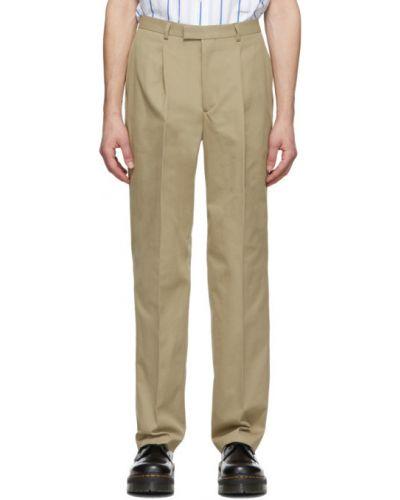 Prosto bawełna kostium spodni garnitur z kieszeniami Noah Nyc