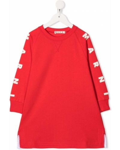 Sukienka z długimi rękawami Marni Kids