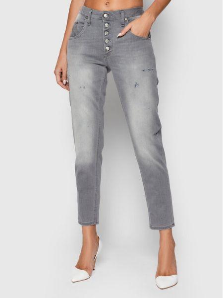Mom jeans - szare Please