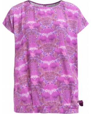 Блузка розовая из вискозы Finn Flare