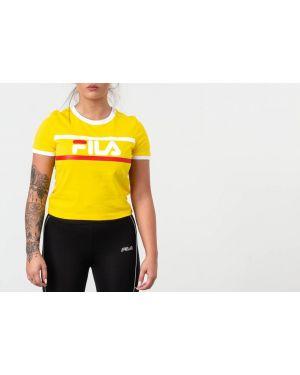 Рубашка желтый Fila