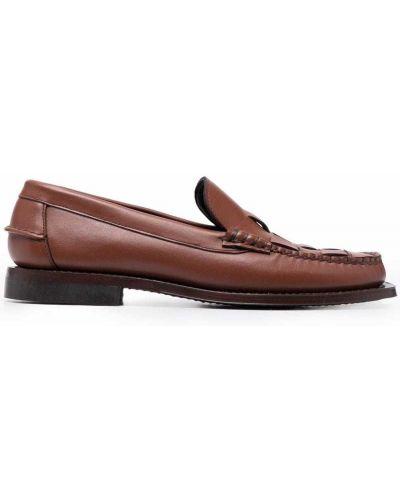 Brązowe loafers Hereu