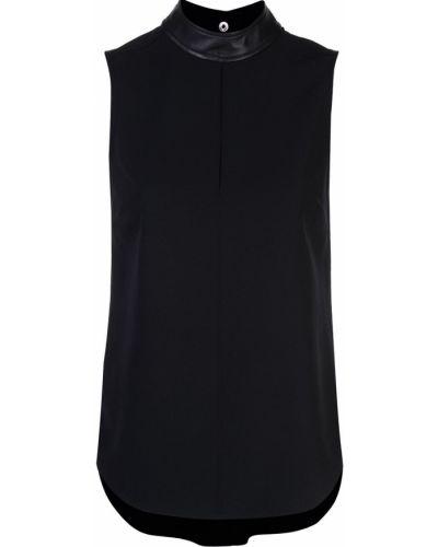 Блузка с открытыми плечами без рукавов с воротником-стойкой Alc