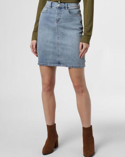 Klasyczna ciepła niebieska spódnica Marie Lund