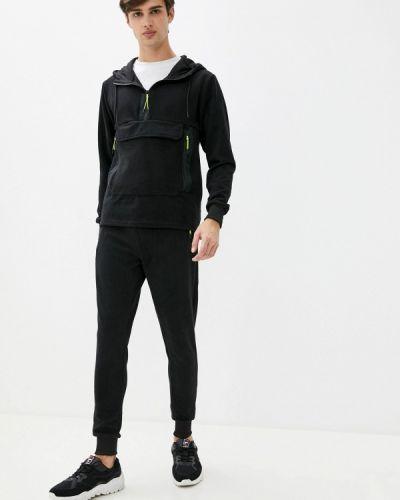 Костюмный черный спортивный костюм Aarhon