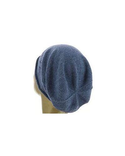 Голубая шапка из вискозы Liu Jo