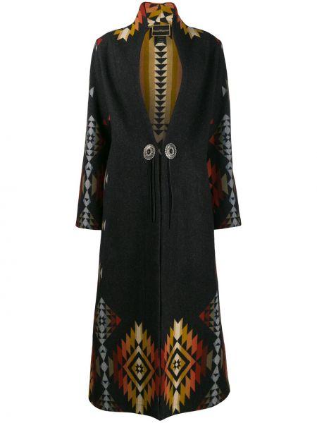 Красное однобортное шерстяное пальто на пуговицах Jessie Western