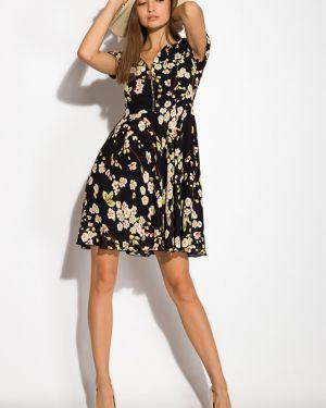 Платье свободного кроя - черное Time Of Style