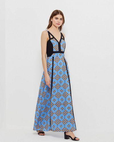 Голубое платье Silvian Heach
