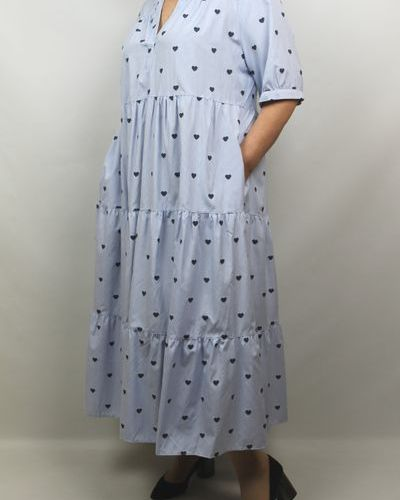 Платье - голубое Piena