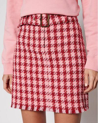 Różowa spódnica mini Pinko