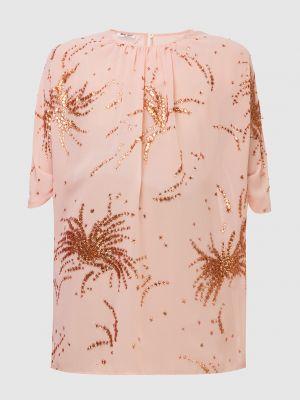 Светло-розовая блузка Miu Miu
