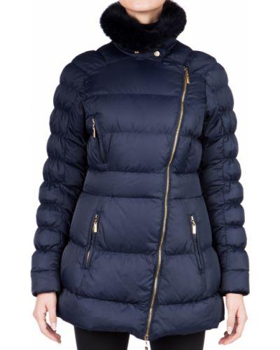 Синяя осенняя куртка Just Cavalli