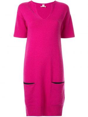 Платье мини с карманами винтажная Hermes