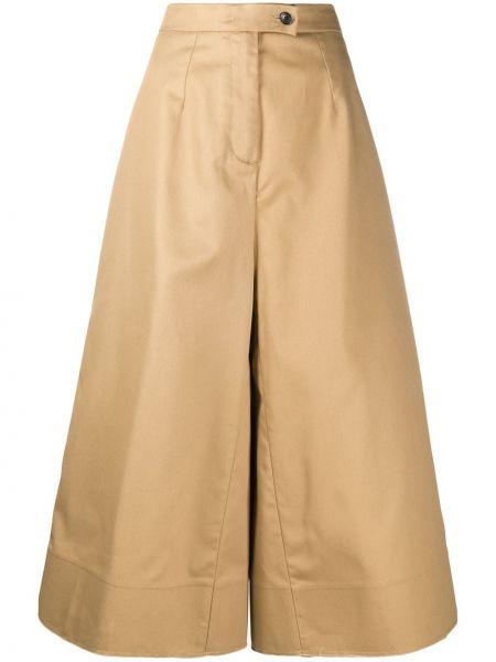 Укороченные брюки свободные на пуговицах Department 5