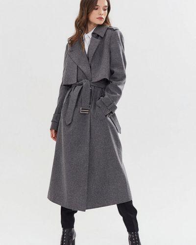 Пальто - серое Gk Moscow