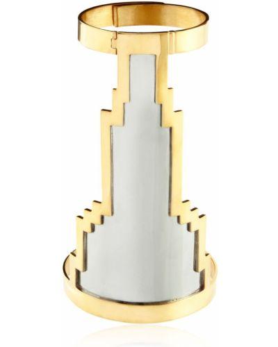 Biała złota bransoletka ze złota pozłacana Monica Sordo