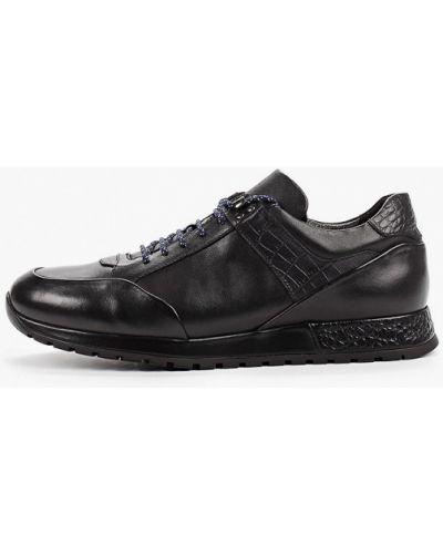 Черные кроссовки Guido Grozzi