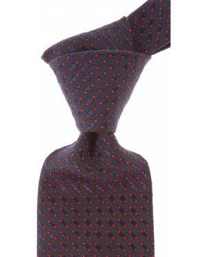 Czerwony krawat z jedwabiu Marinella