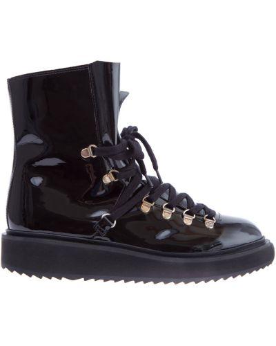 Кожаные ботинки теплые легкие Kenzo