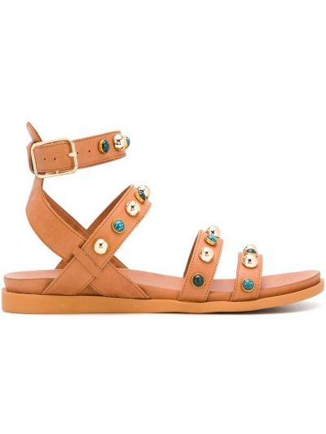 Otwarty sandały z klamrą otwarty palec u nogi z prawdziwej skóry Carvela